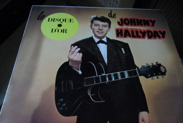 33T/LP JOHNNY HALLYDAY  LE DISQUE D'OR