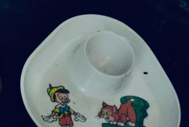 Coquetier Pinocchio de Walt Disney