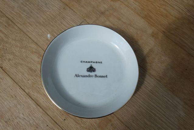"vide poche ""champagne Alexandre Bonnet"""