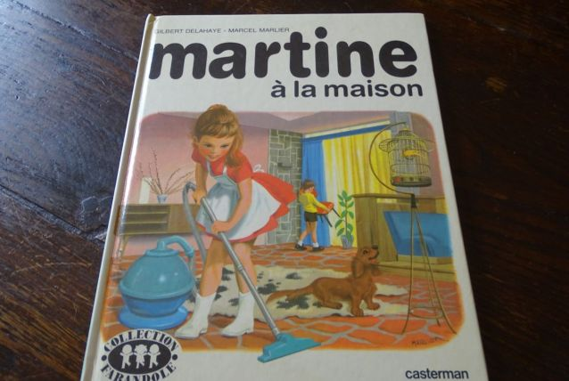 Martine à la maison 1963