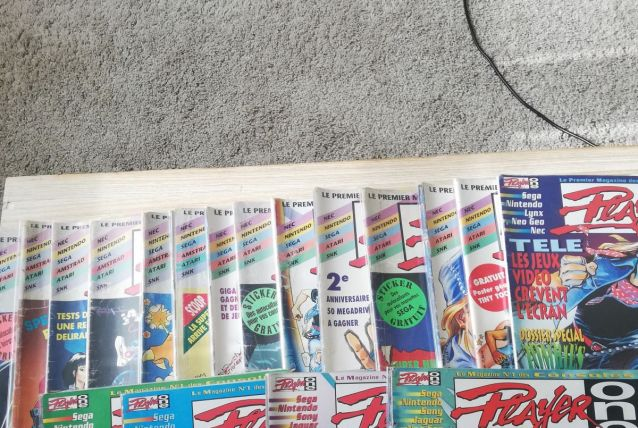 lot de magazines player one