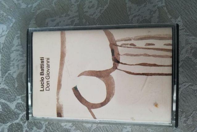 K7 audio — Lucio Battisti - Don Giovanni