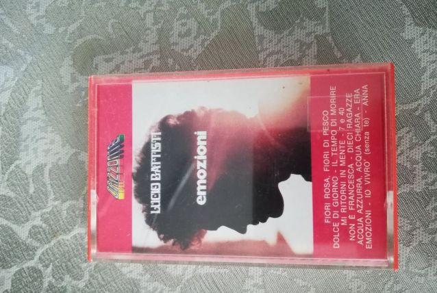 K7 audio  — Lucio Battisti - Emozioni