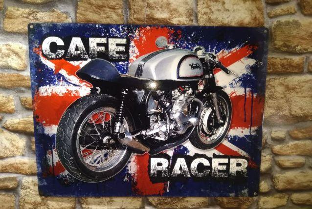 PLAQUE METAL CAFE RACER
