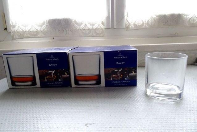 8 verres à whisky Villeroy et Boch