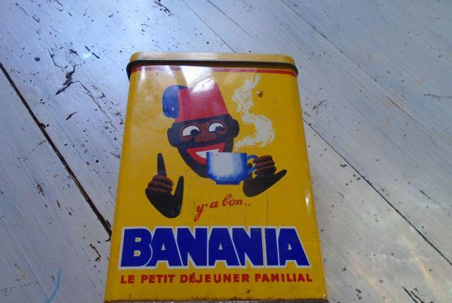Boite en métal Banania