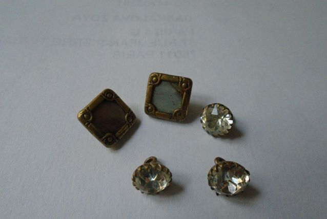 Boutons strass