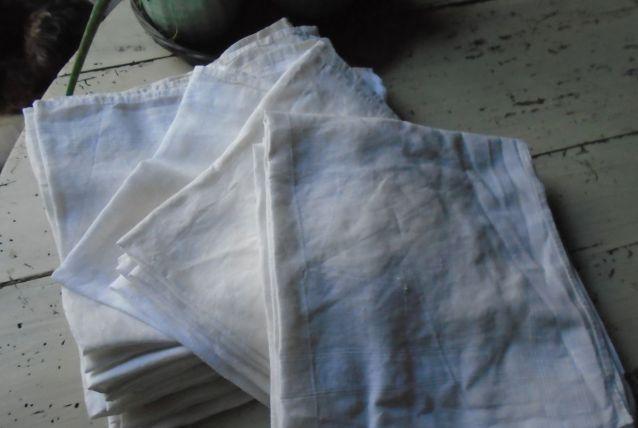 Lot de serviettes/mouchoirs