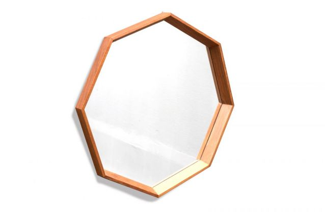 Miroir Hexagonal Danois