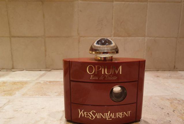 Flacon vide Opium années 80 60 ml parfait état