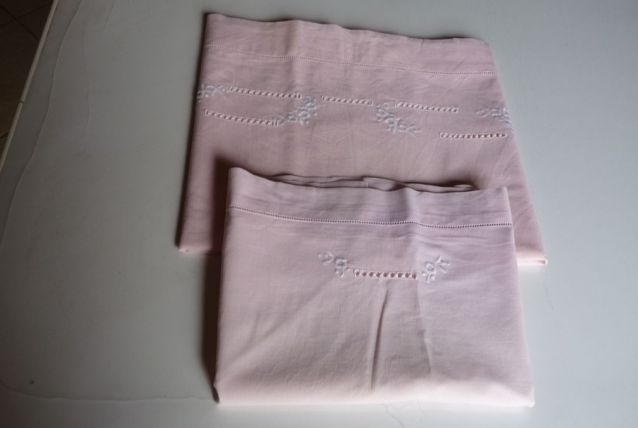 drap pour lit enfant vintage