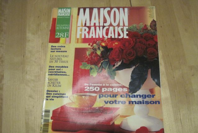 revue maison française 1995 numéro  478