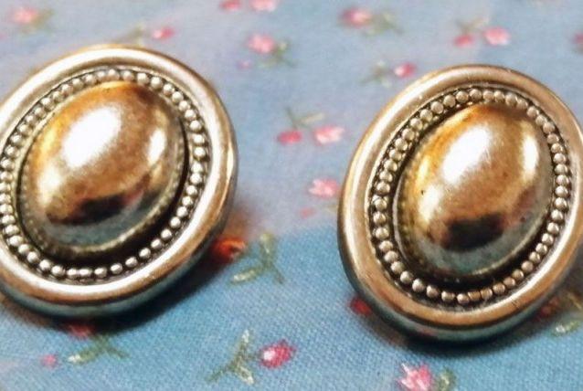Boucles d'oreille vintage 80's