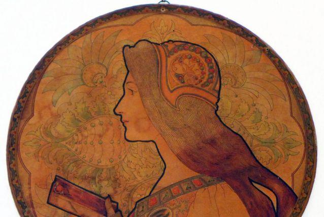 Femme au livre de Jane Atche