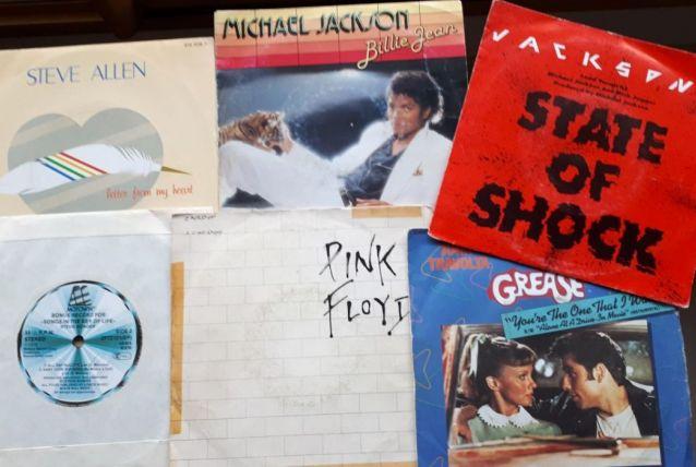 Lot de 6 vinyles 45 tours  tubes US