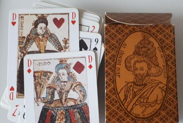 Jeu de 54 cartes Henri IV