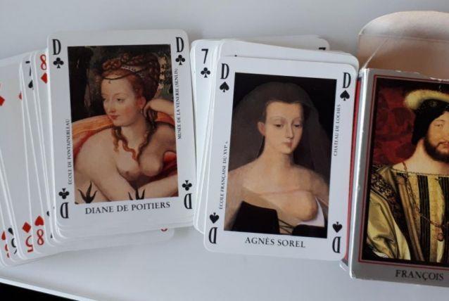 Jeu de 54 cartes Renaissance