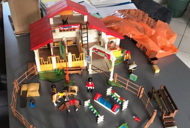 Centre équestre playmobil