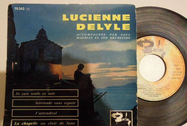 Vinyle 45 tours Lucienne Delyle