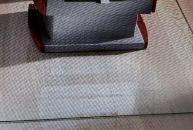 Plaque de sol verre trempé  pour poêle