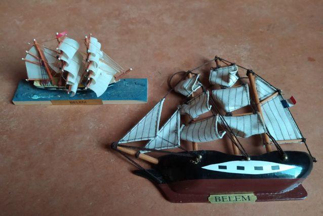 """lot de 2 bateaux"""" Belem"""""""