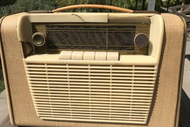 Radio vintage déco - Occasion